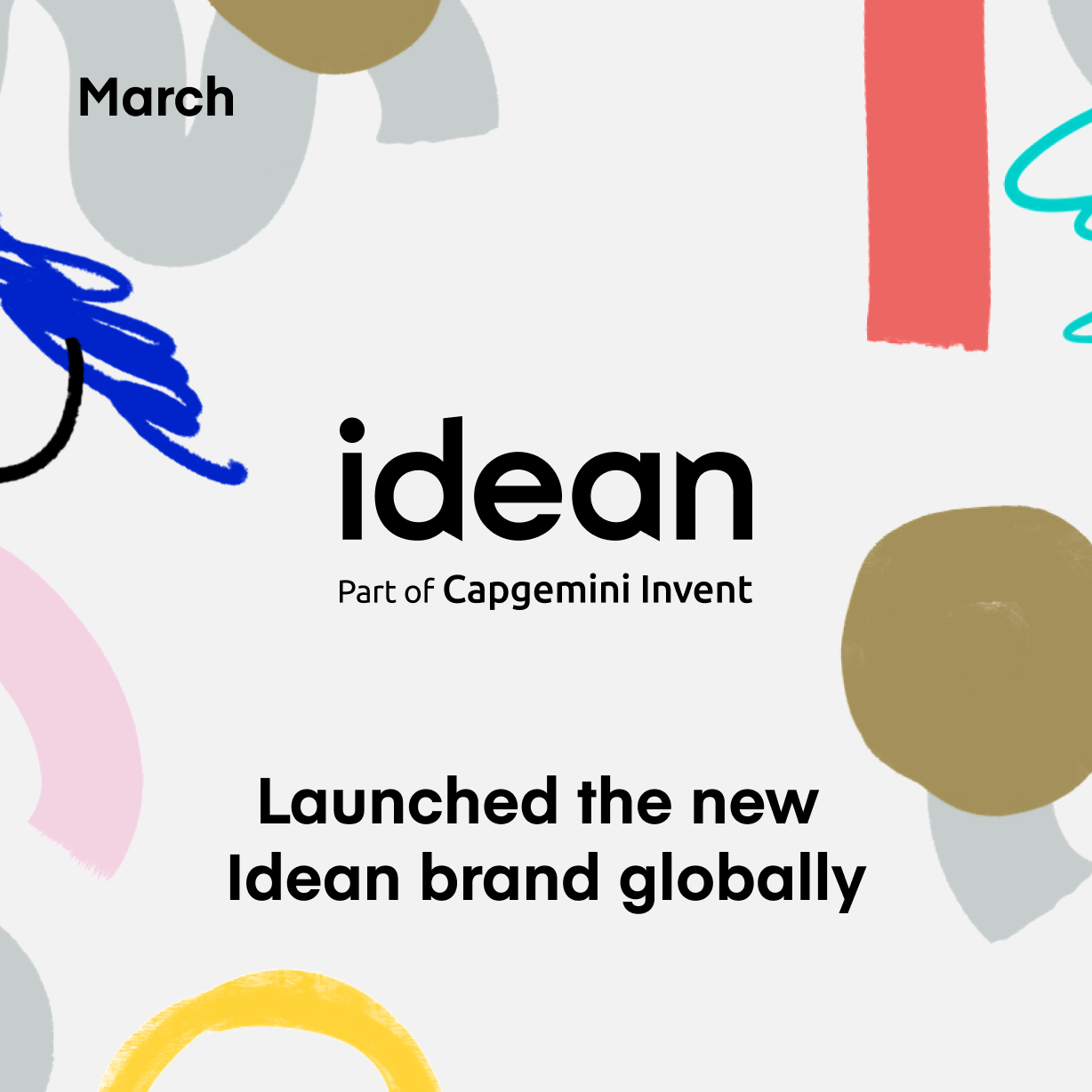 Launched the new Idean brand globally