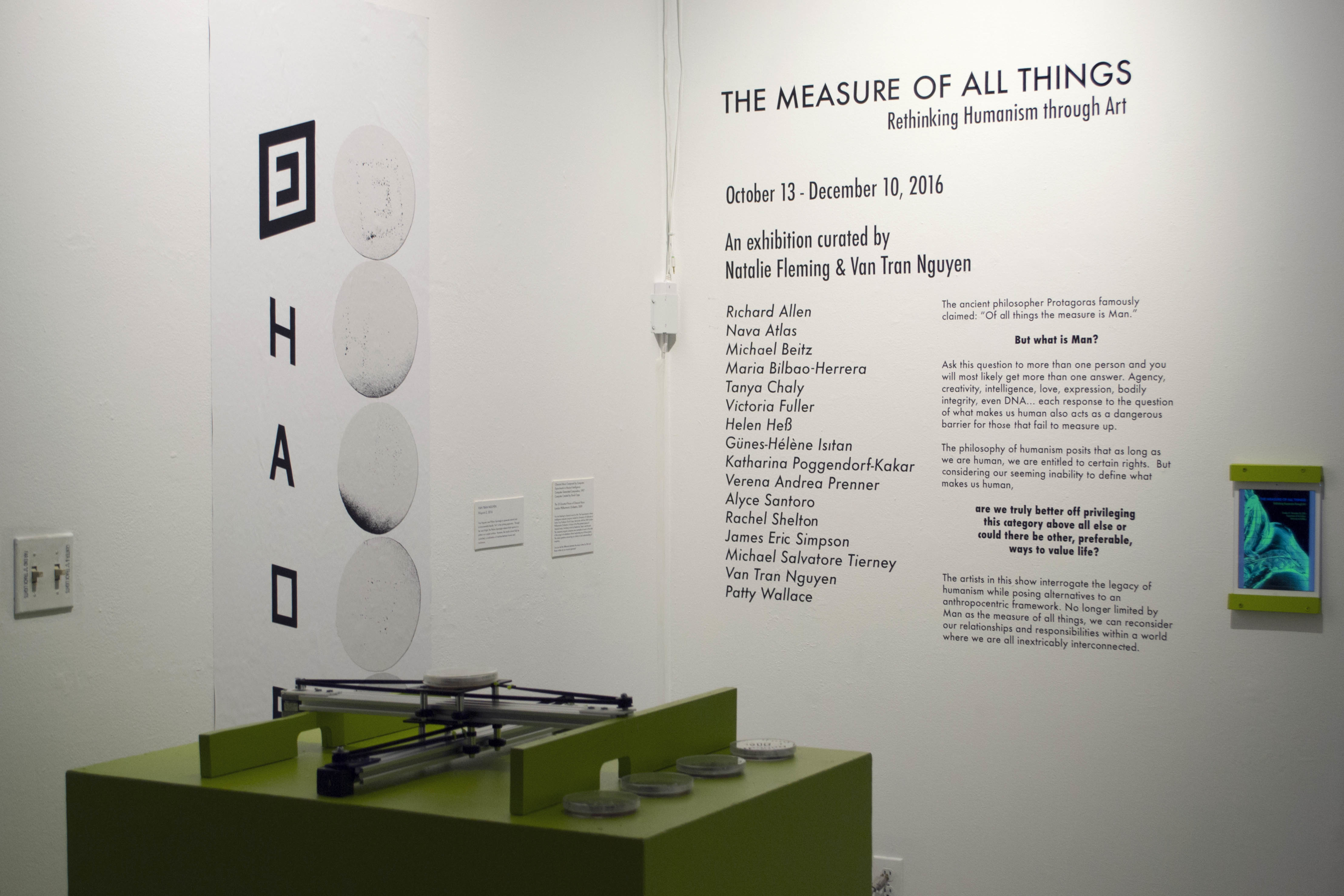 RH.6 THE MEASURE OF ALL THINGS: RETHINKING HUMANISM THROUGH ART