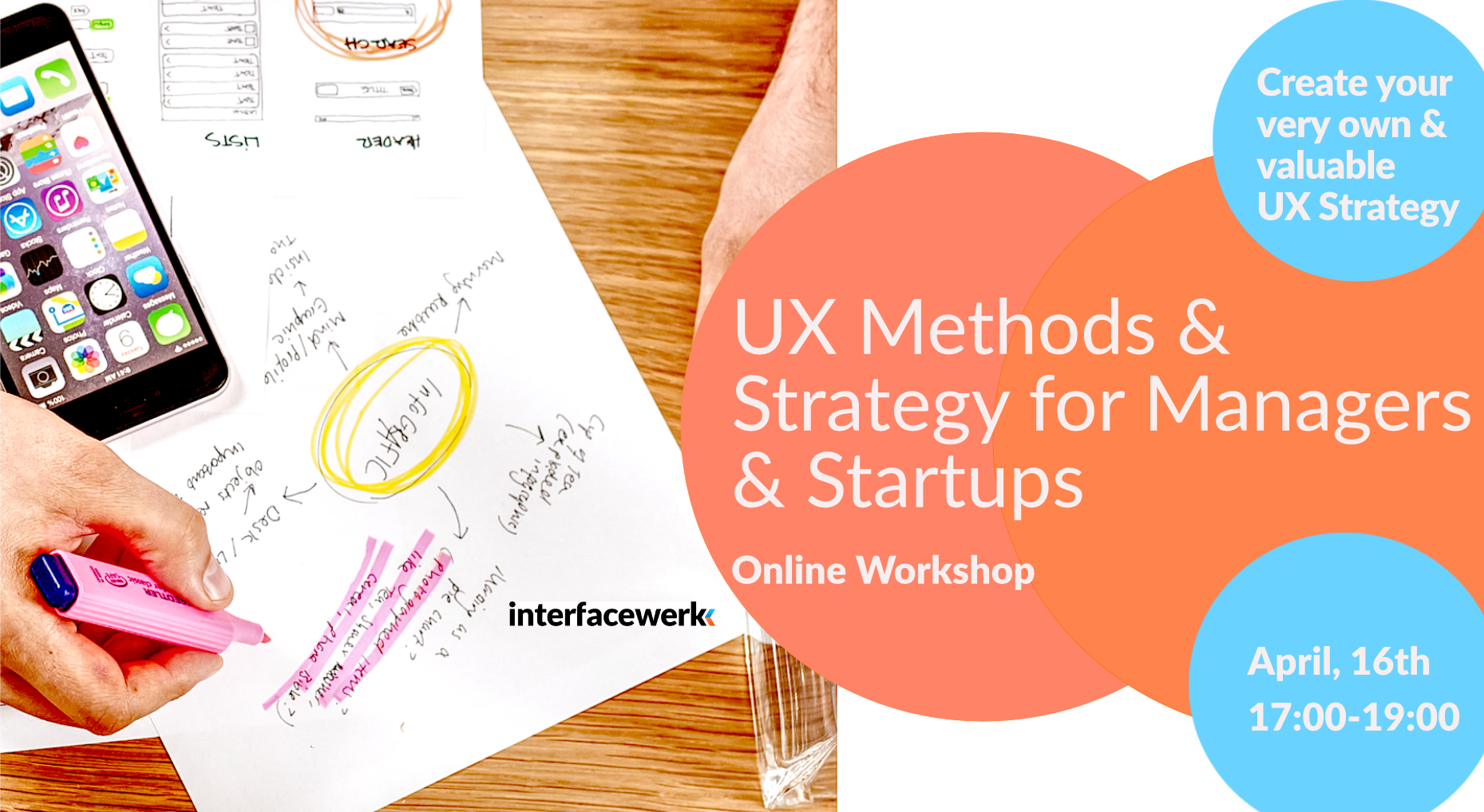 UX Methods and Strategy WS Banner