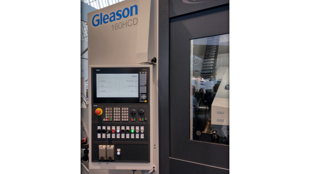 Gleason gear machining at the EMO 2019 fair in Hannover