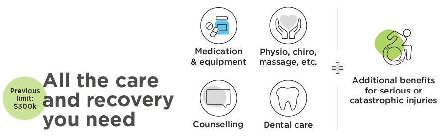 Summary of care and recovery benefits