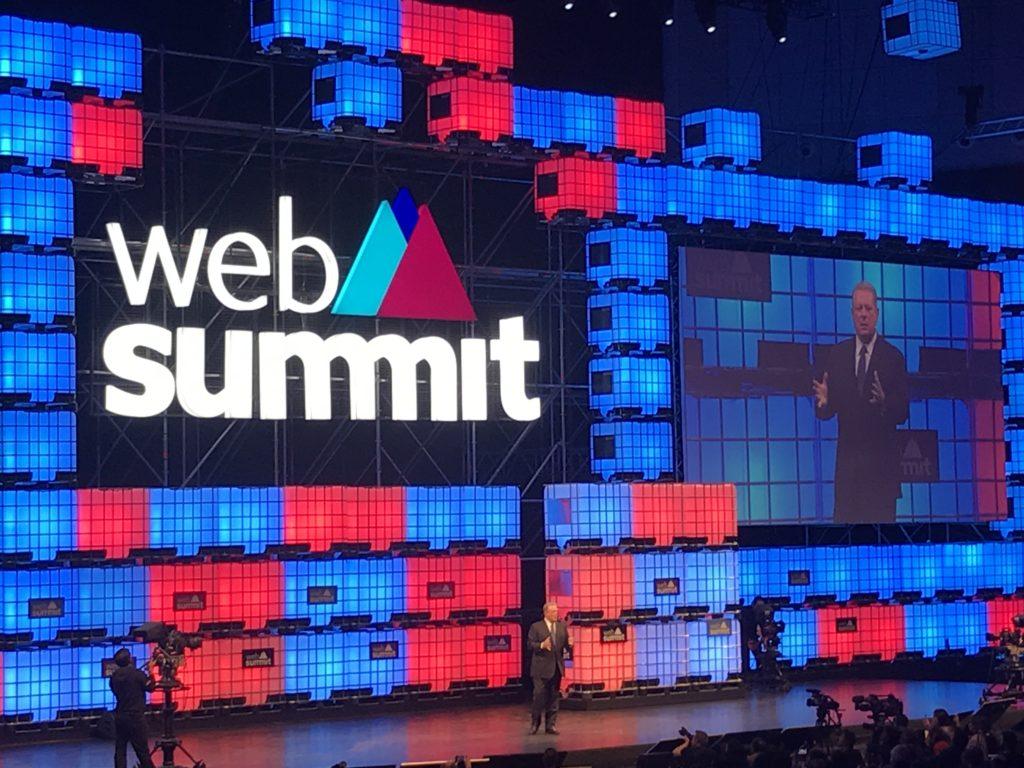 Al gore Web Summit 2017