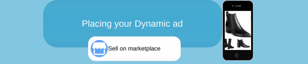Facebook marketplace: new dynamic ads placement
