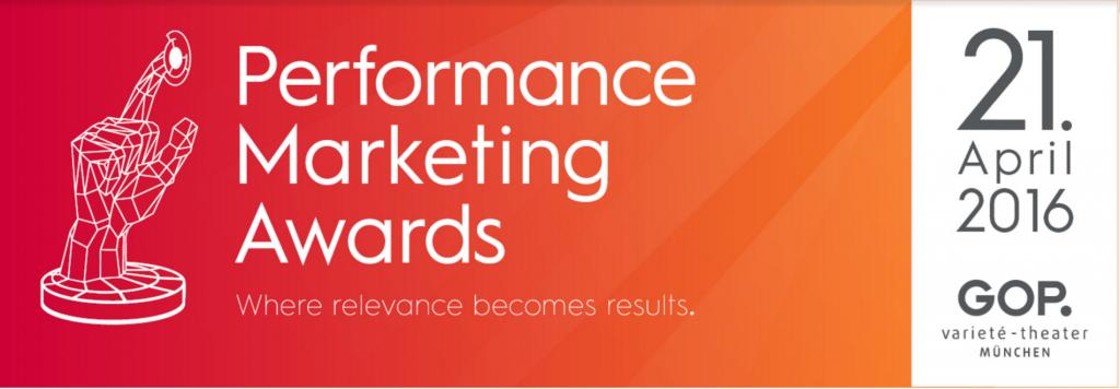 Criteo Performance Marketing Awards 2016