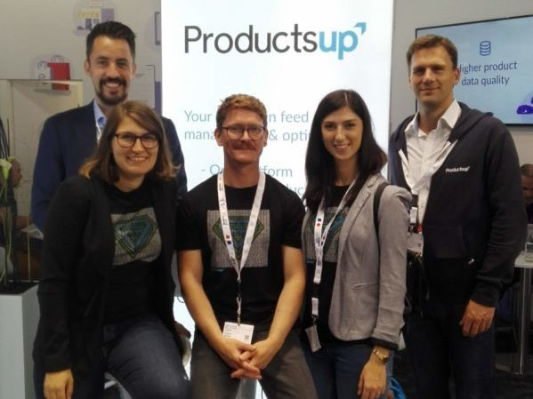 Productsup team at dmexco 2018