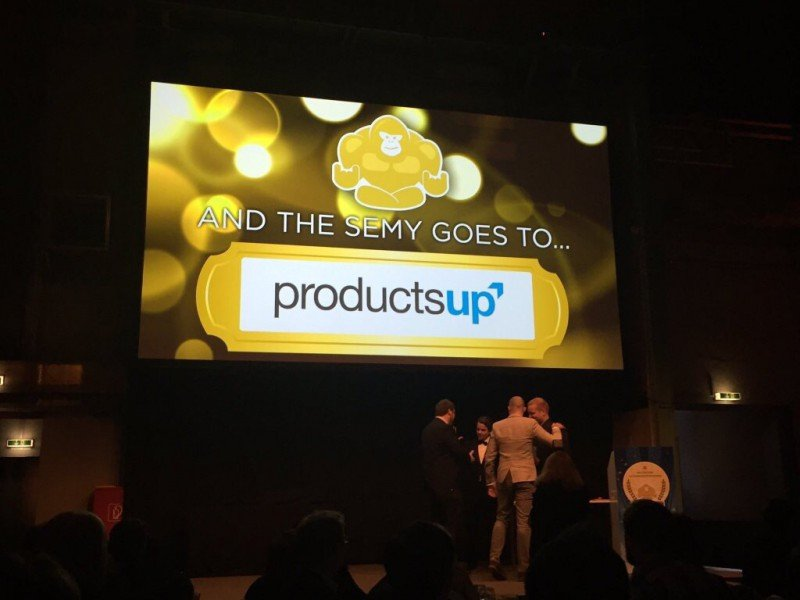 Productsup Scores Victory_SEMY-Awards-2016