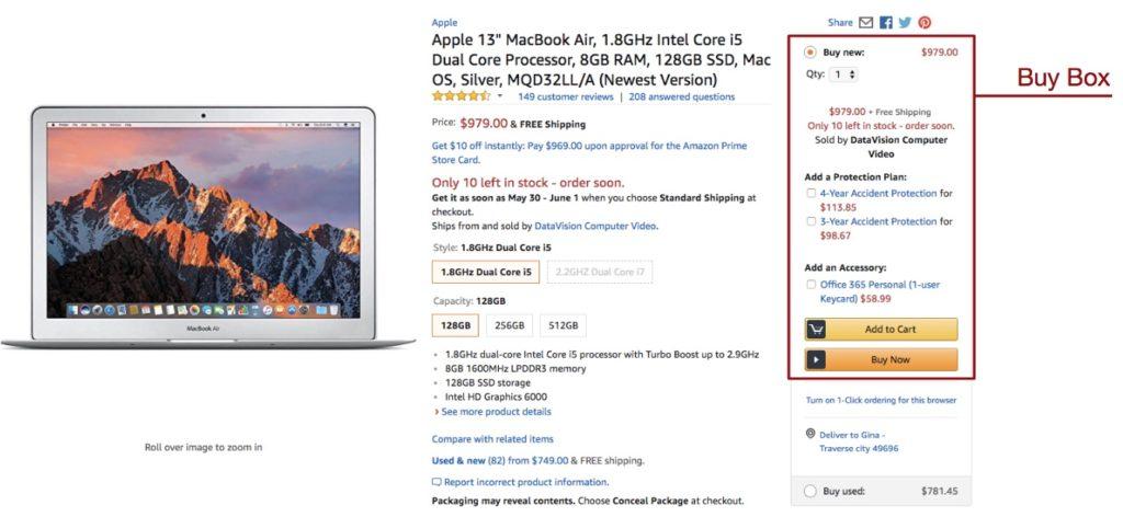 Amazon SEO Buy Box