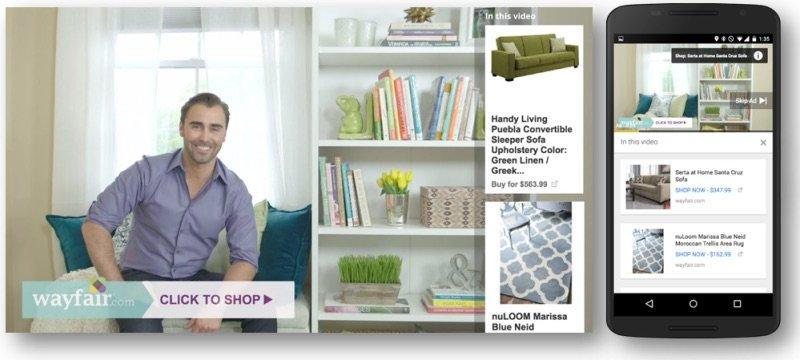 youtube trueview shopping