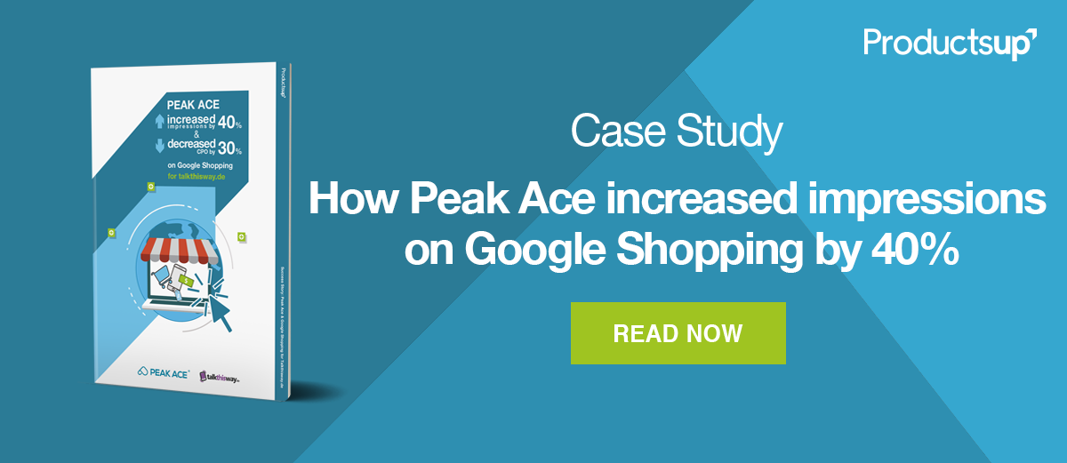 increase impressions on google shopping