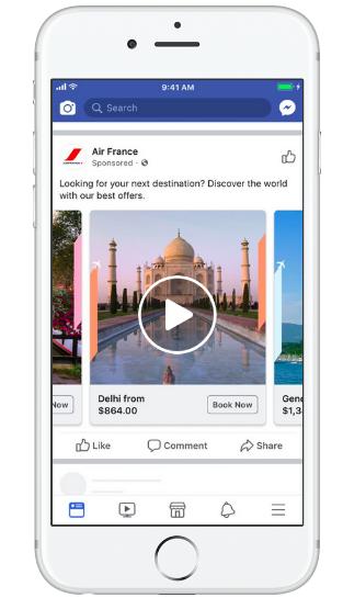 Facebook Flight Ads