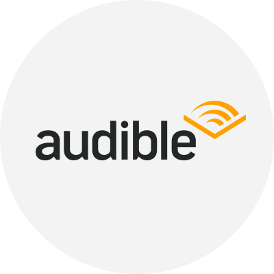Audible logo.