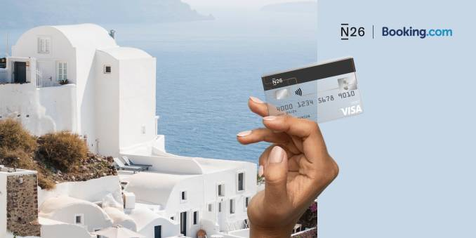 N26 x Booking.com - Explore the world for less.