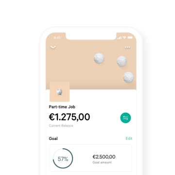 N26 Bank Account Business You Space Details in App.