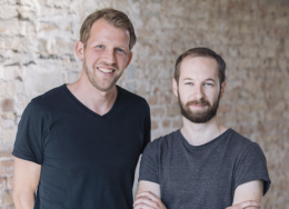 Vincent Audoire and Rob Schumacher, founders of Feather.