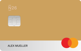 N26 You card, Wheat.