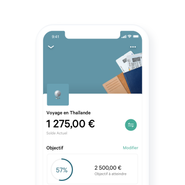 N26 application page on a smart phone screen with a part time job income.