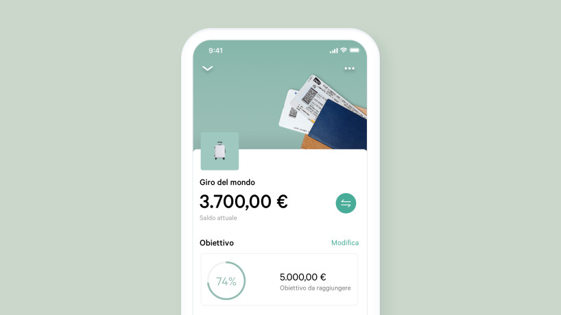 Novità N26 Spaces.