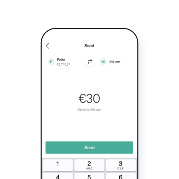N26 Bank Account Moneybeam example transaction.