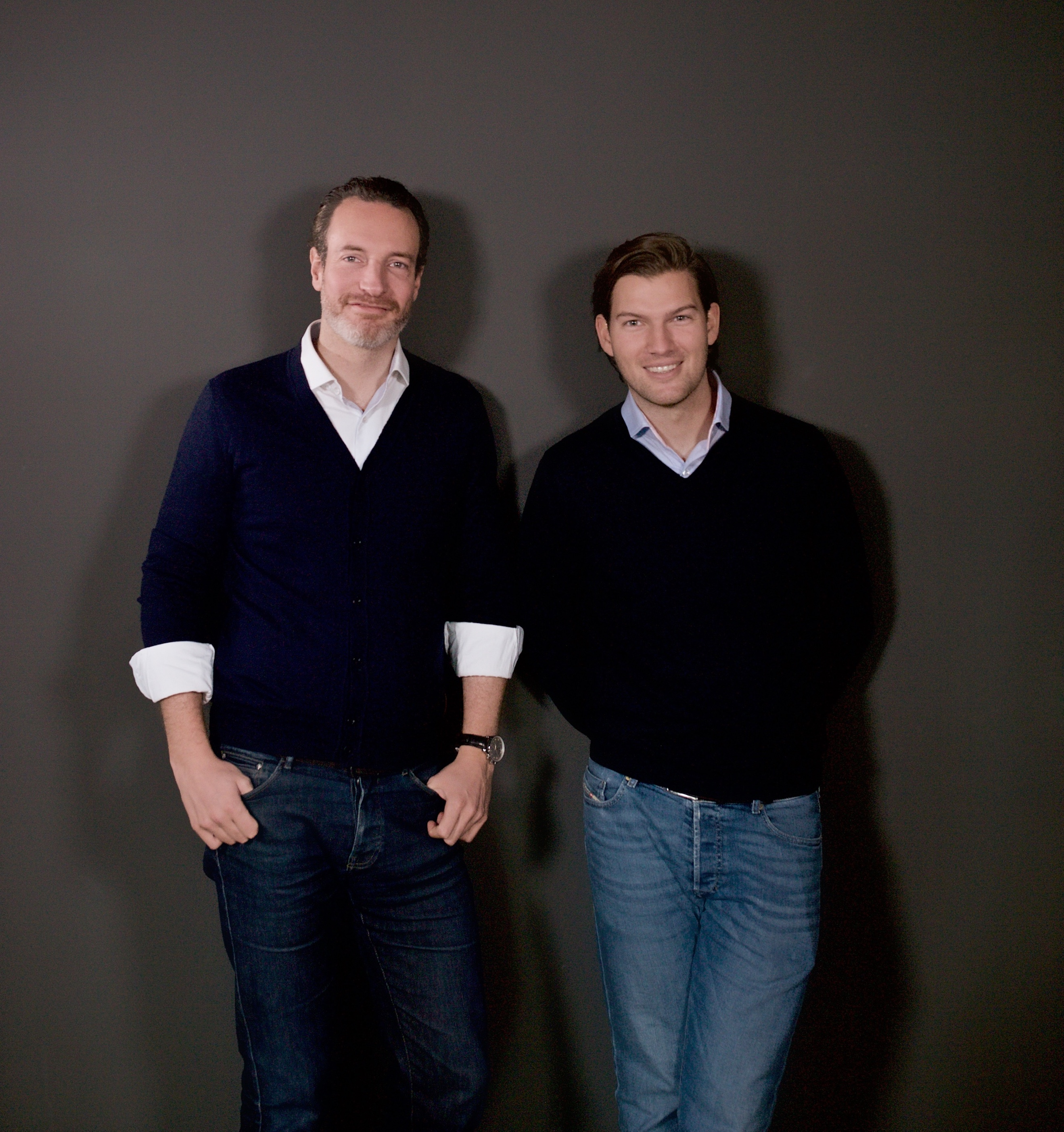 N26 Press Image of our Founders Maximilian Tayenthal and Valentin Stalf