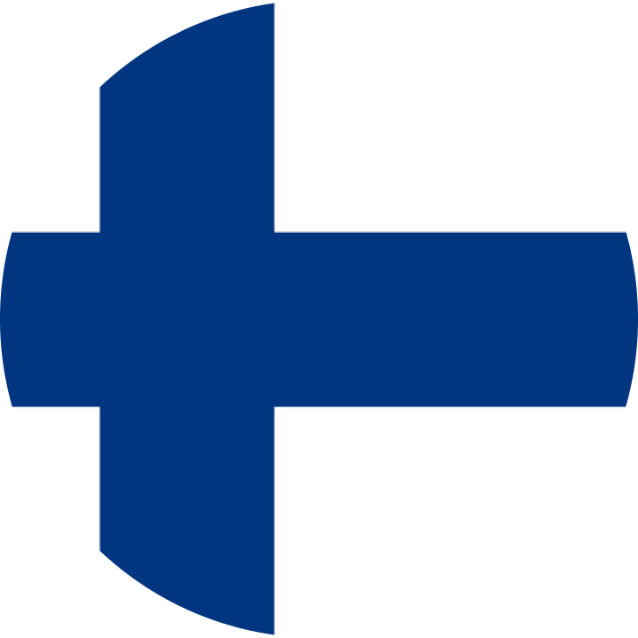 Flag of Finland.