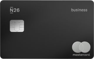Black N26 Business Metal card.