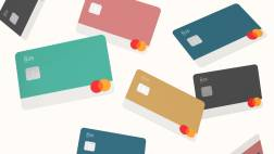 5 different N26 Business You debit card for freelancers.