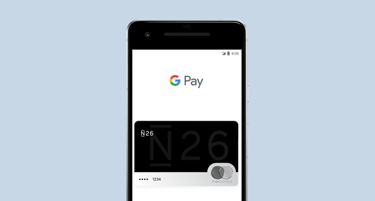 Carte N26 Belgique.Use Your N26 Card With Google Pay N26 Europe