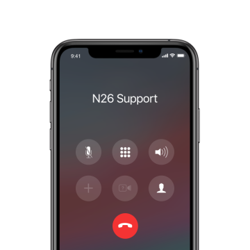 N26 Premium Metal dedicated phone support.