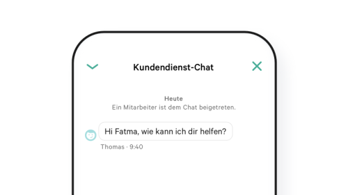 N26 Support Chat