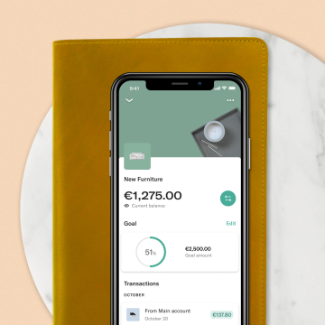 Budgeting with N26—helping you manage and save your money.