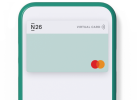 The N26 virtual card.