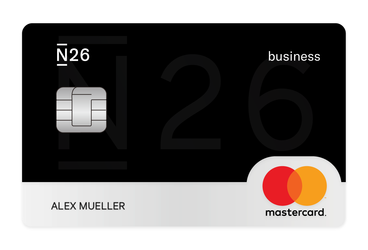 N26 Business Black Mastercard Card