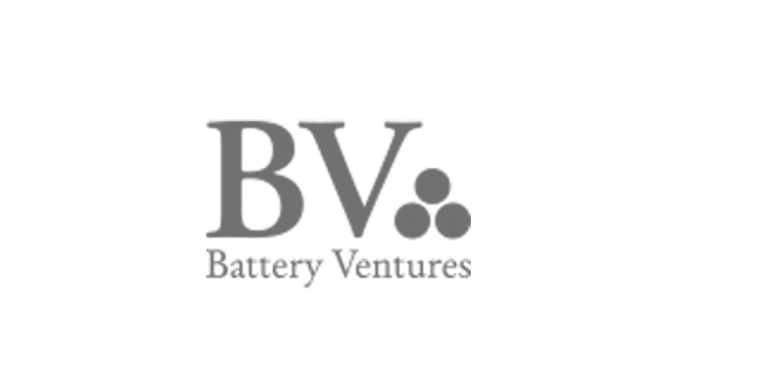 Logo of Battery Ventures.