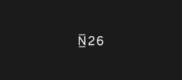 N26 logo against a black background.