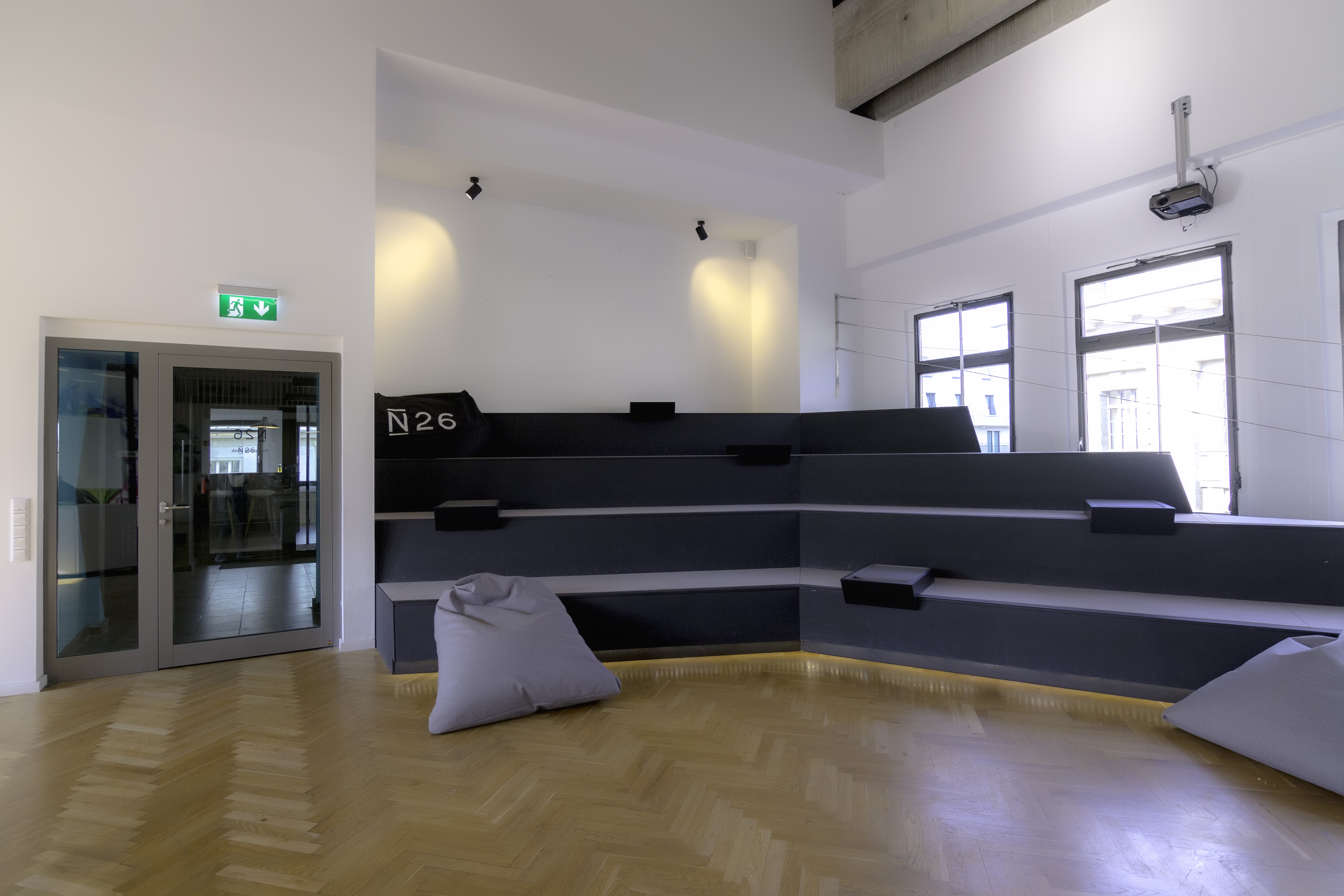 N26 Press Image of our Office Ballroom