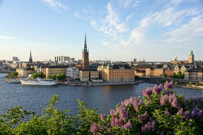 panoramic picture of stockholm.