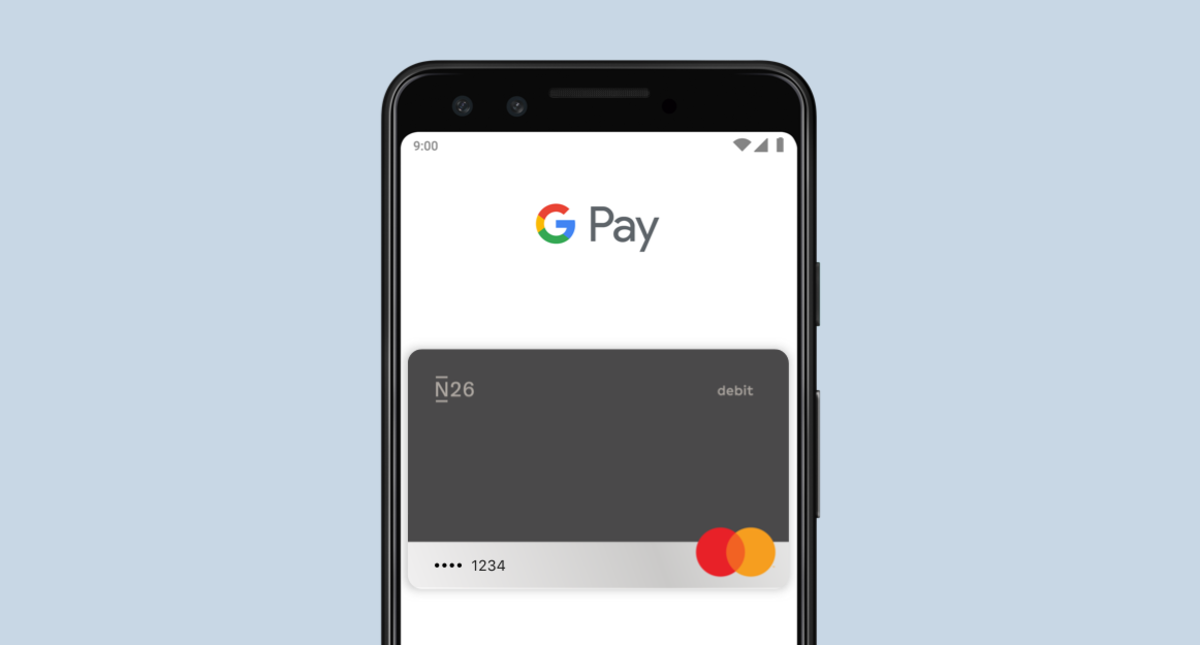 Use your N26 card with Google Pay — N26 Europe