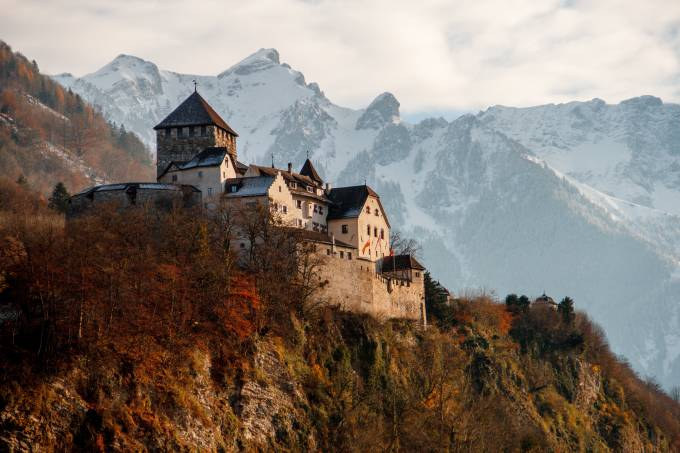 Castle Vaduz, Vaduz, Liechtenstein - Photo by Henrique Ferreira on Unsplash.