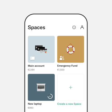Shared Spaces screen.