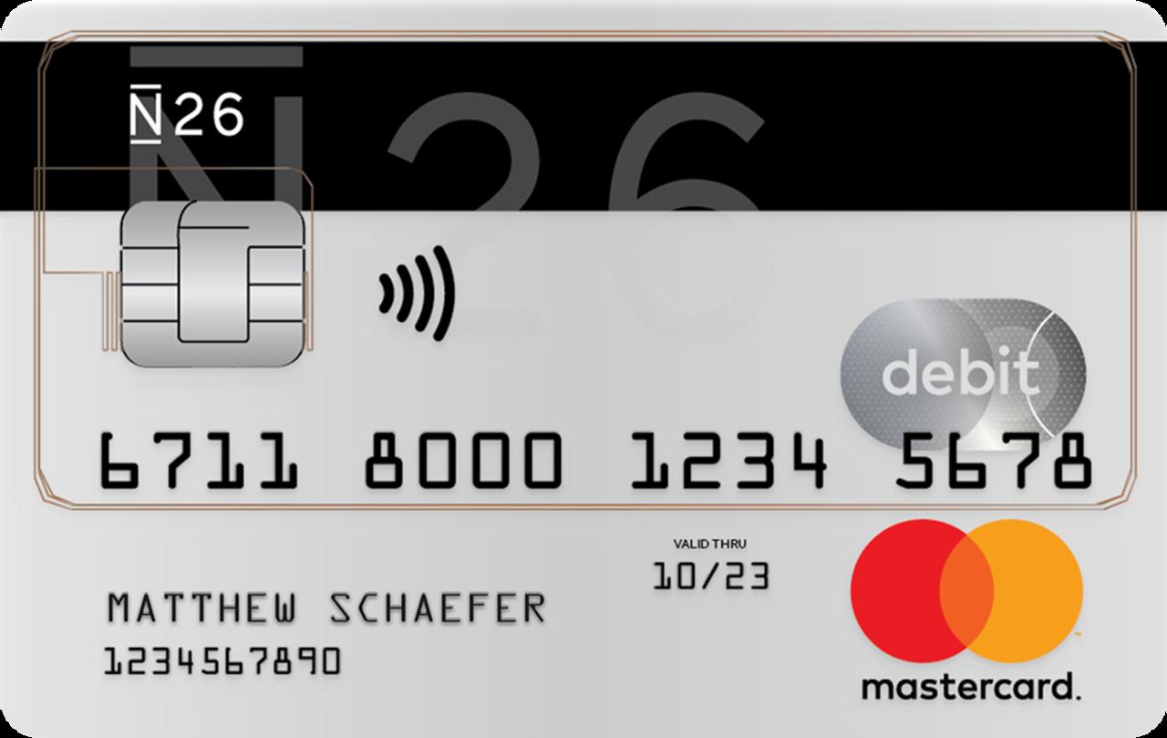 N26 Mastercard Debitcard
