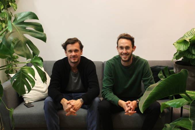 Max Brenssell and Jack Lancaster, founders of Plantclub.