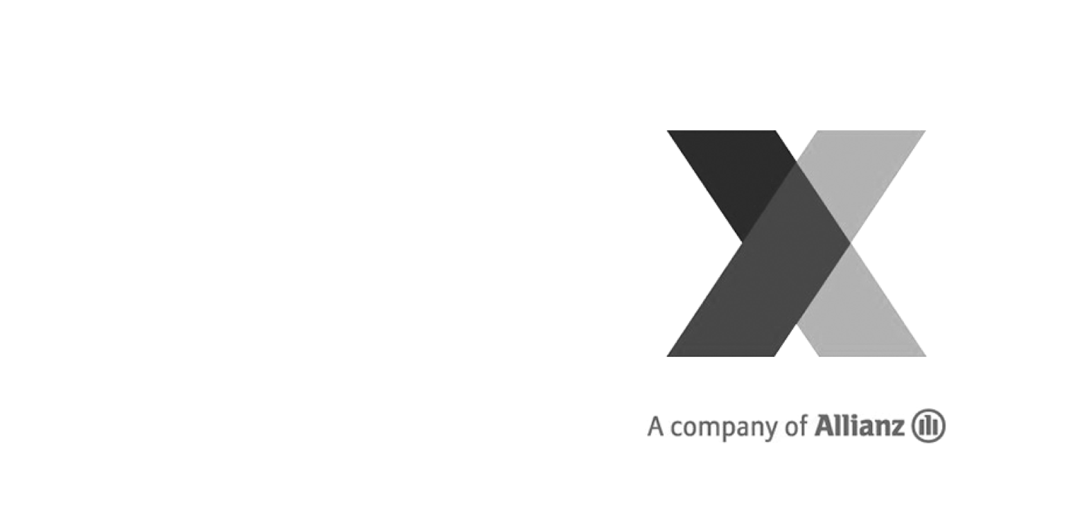 Logo of Allianz X.
