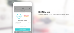 3D Secure transaction confirmation page open on an N26 app.