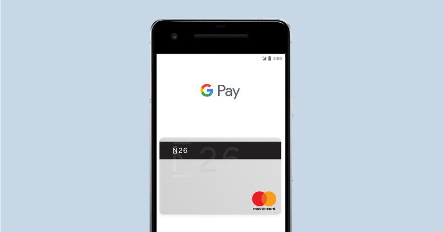 N26 UK is launching with Google Pay