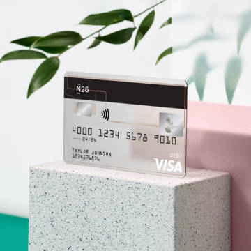 Get paid early with N26.