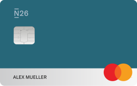 N26 You card, Petrol.