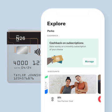 Save money on your 8Fit subscription with N26.