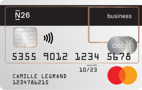Carte N26 Business.