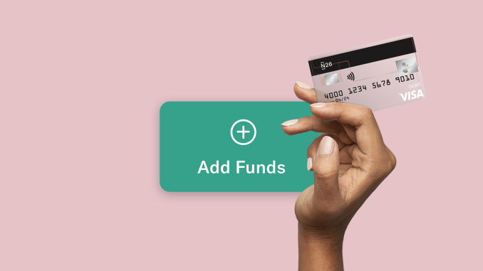 Easy ways to fund your N26 account.