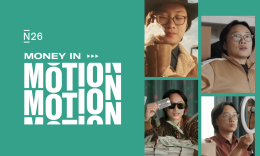Jimmy O Yang and N26 money in motion campaign.